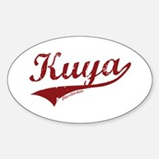 Kuya Oval Decal