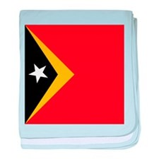 Flag of East Timor baby blanket