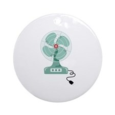 Household Fan Ornament (Round)