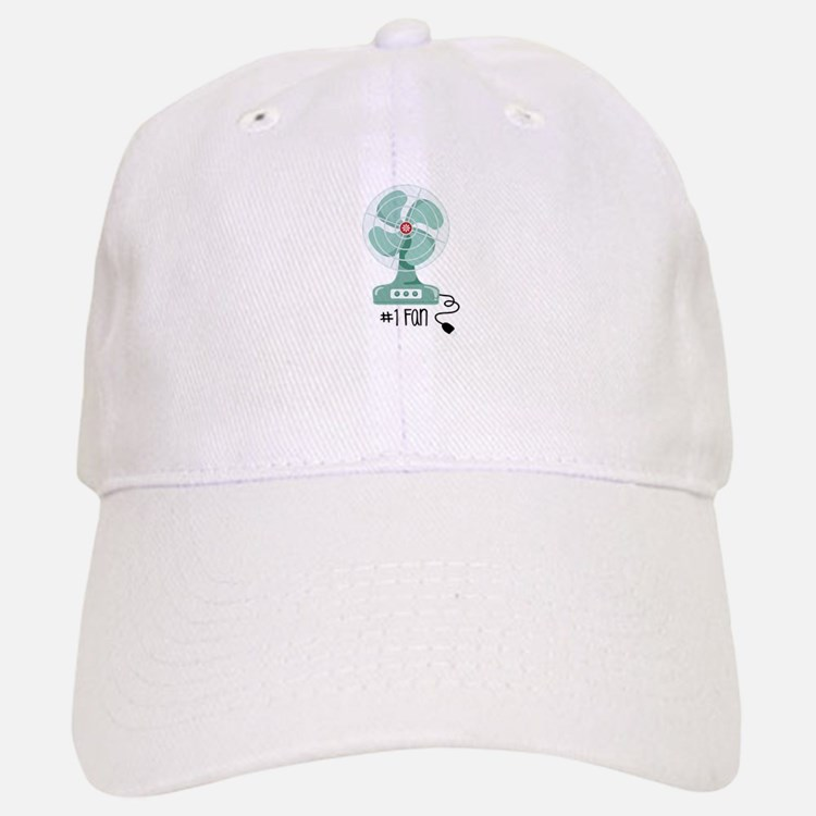 Number One Fan Baseball Baseball Baseball Cap