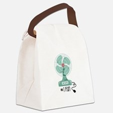 Number One Fan Canvas Lunch Bag