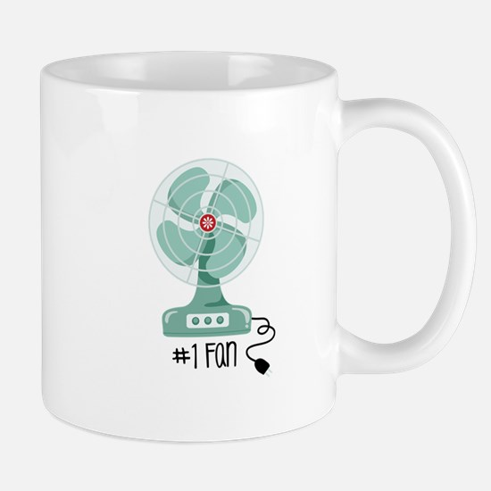 Number One Fan Mugs