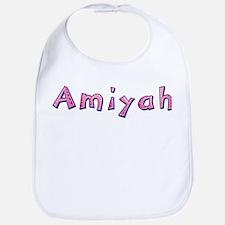 Amiyah Pink Giraffe Bib