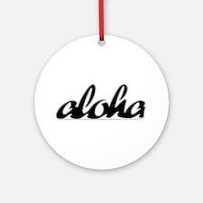 Surf Aloha -  Ornament (Round)