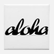 Surf Aloha -  Tile Coaster