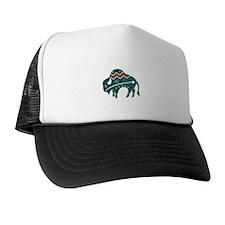 Native Buffalo Design Trucker Hat