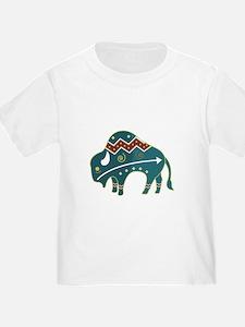 Native Buffalo Design T