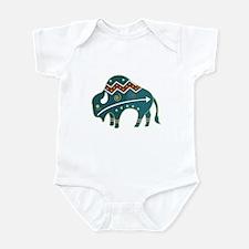 Native Buffalo Design Infant Bodysuit