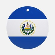 Flag of El Salvador Ornament (Round)