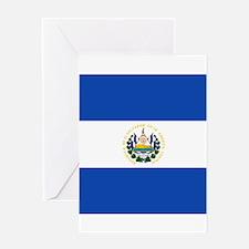 Flag of El Salvador Greeting Cards