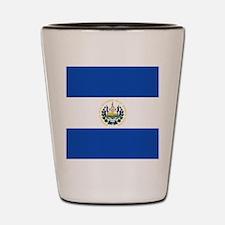 Flag of El Salvador Shot Glass