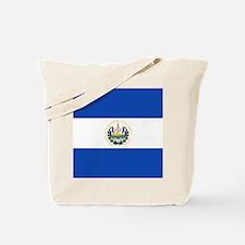 Flag of El Salvador Tote Bag