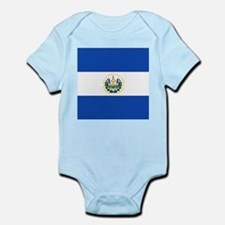 Flag of El Salvador Body Suit