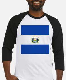 Flag of El Salvador Baseball Jersey