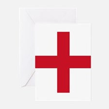Flag of England - St George Greeting Cards