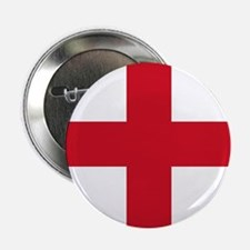 "Flag of England - St George 2.25"" Button"