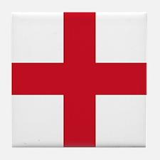 Flag of England - St George Tile Coaster