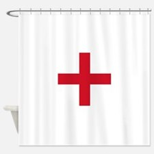 Flag of England - St George Shower Curtain