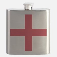 Flag of England - St George Flask