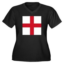 Flag of England - St George Plus Size T-Shirt