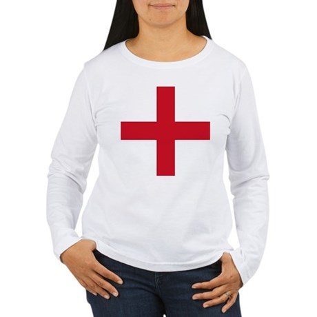 Flag of England - St George Long Sleeve T-Shirt