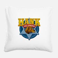 Official Hank Logo Square Canvas Pillow