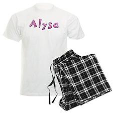 Alysa Pink Giraffe Pajamas