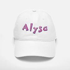 Alysa Pink Giraffe Baseball Baseball Baseball Cap