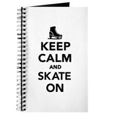 Keep calm and Skate on Journal