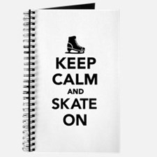 Keep calm and Skate on Journal