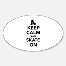 Keep calm and Skate on Decal