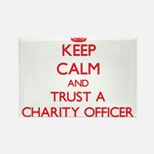 Keep Calm and Trust a Charity Officer Magnets