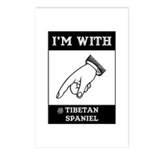 With the Tibbie Postcards (Package of 8)