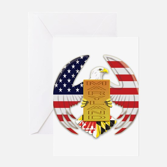 AMERICAN EAGLE Greeting Cards