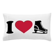 I love skate speed figure skating Pillow Case