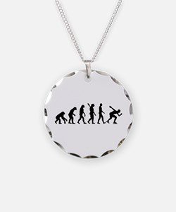 Evolution Speed skating Necklace