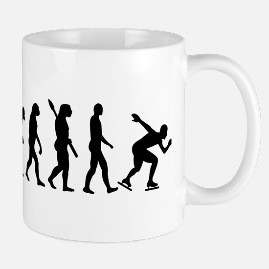 Evolution Speed skating Mug