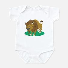 Cartoon Buffalo Infant Bodysuit