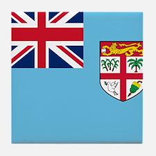 Flag of Fiji Tile Coaster