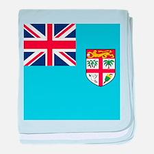 Flag of Fiji baby blanket