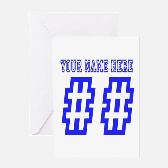 Custom Game Day Greeting Cards