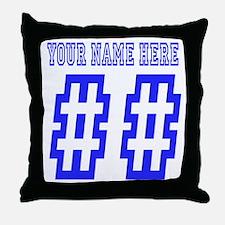 Custom Game Day Throw Pillow
