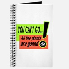 You Cant Go/Bill Murray Journal