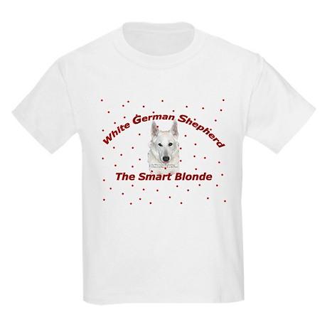 The Smart Blonde Kids Light T-Shirt