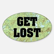 Get Lost Decal