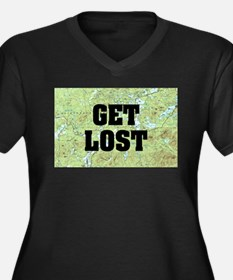 Get Lost Plus Size T-Shirt