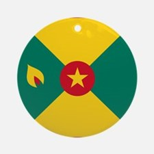 Flag of Grenada Ornament (Round)