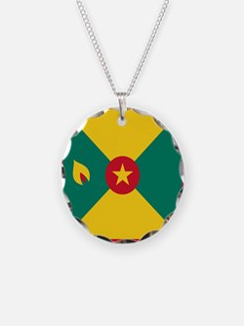Flag of Grenada Necklace