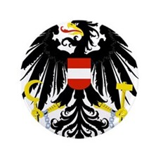 "Austrian Coat of Arms 3.5"" Button"