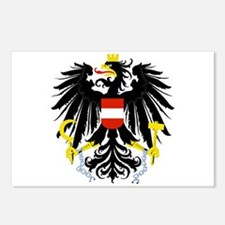 Austrian Coat of Arms Postcards (Package of 8)
